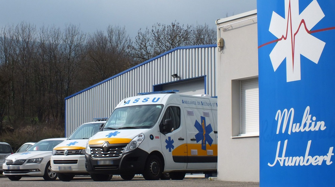 Bellegarde Ambulances Multin-Humbert  Bellegarde-sur-Valserine 1